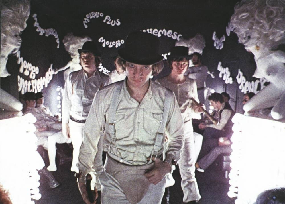 'A Clockwork Orange', playing in the Barbican's Stanley Kubrick season