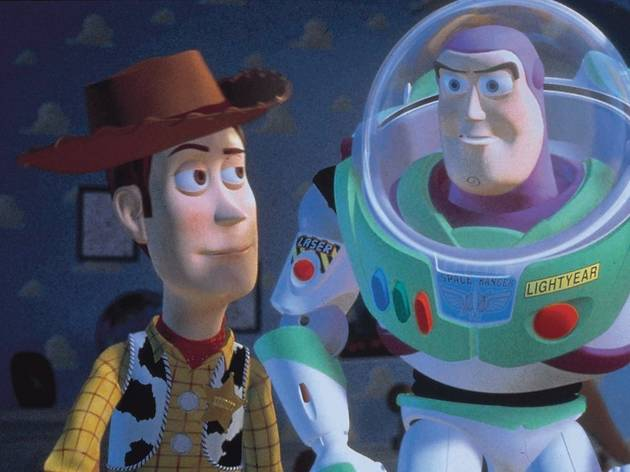 Woody y Buzz Lightyear en Toy Story