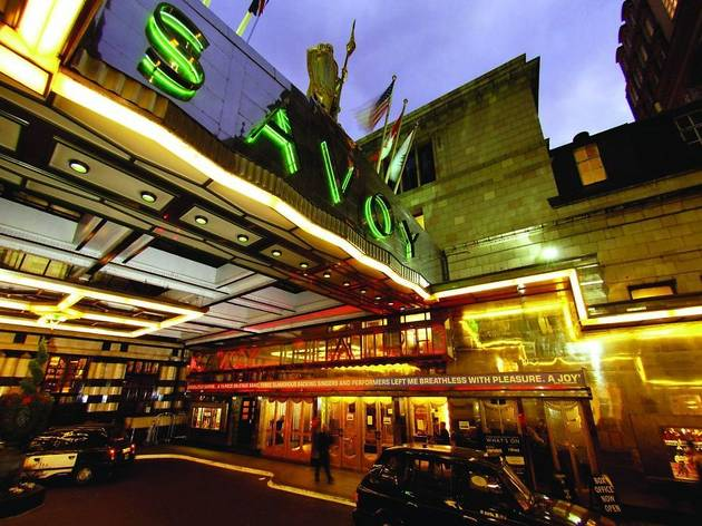 Savoy Theatre Theatre In Charing Cross London