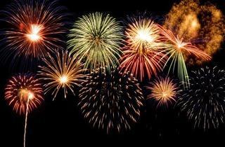 Ravenscourt Park Fireworks 2012
