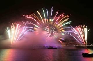 New Year's Eve 2012 Firework Display