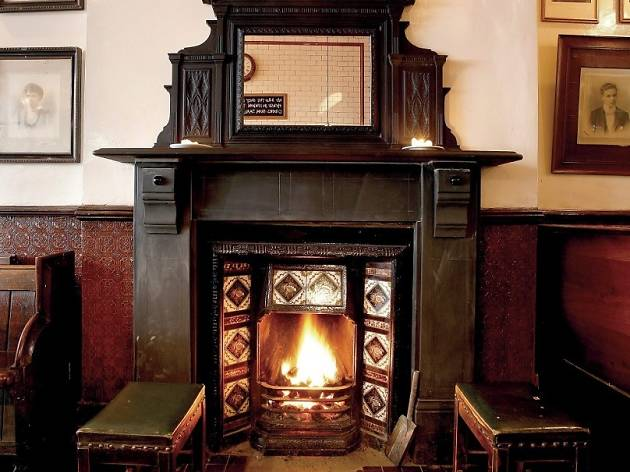 The best pubs with fires