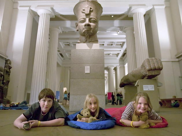British Museum Sleepovers