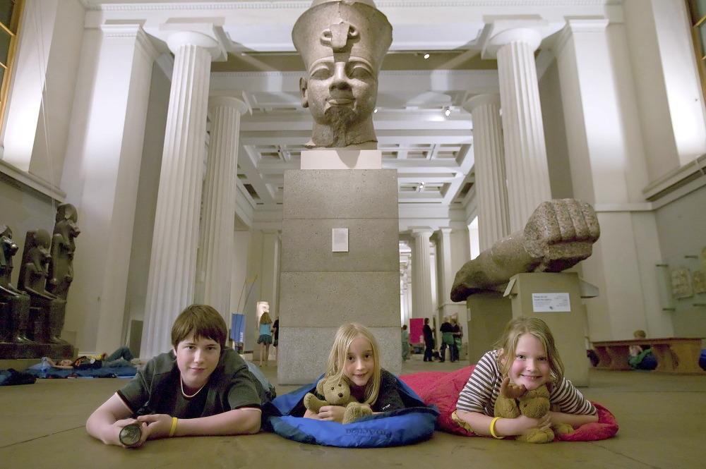 British Museum Sleepovers