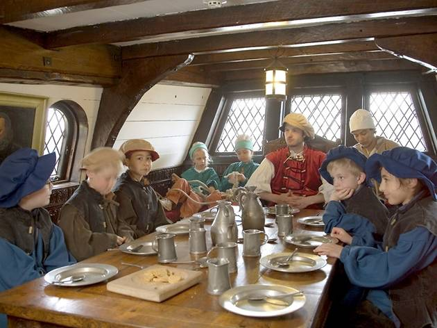 Half-Term on the Golden Hinde