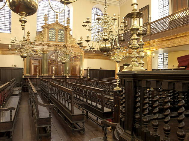 Bevis Marks Synagogue Attractions In Aldgate London