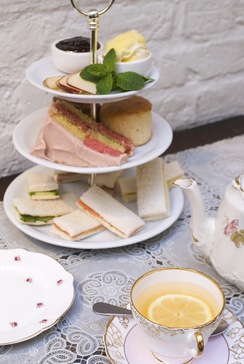 Indulge in afternoon tea at Orange Pekoe