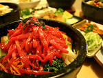 Delicious Korean food at Bi Bim Bap