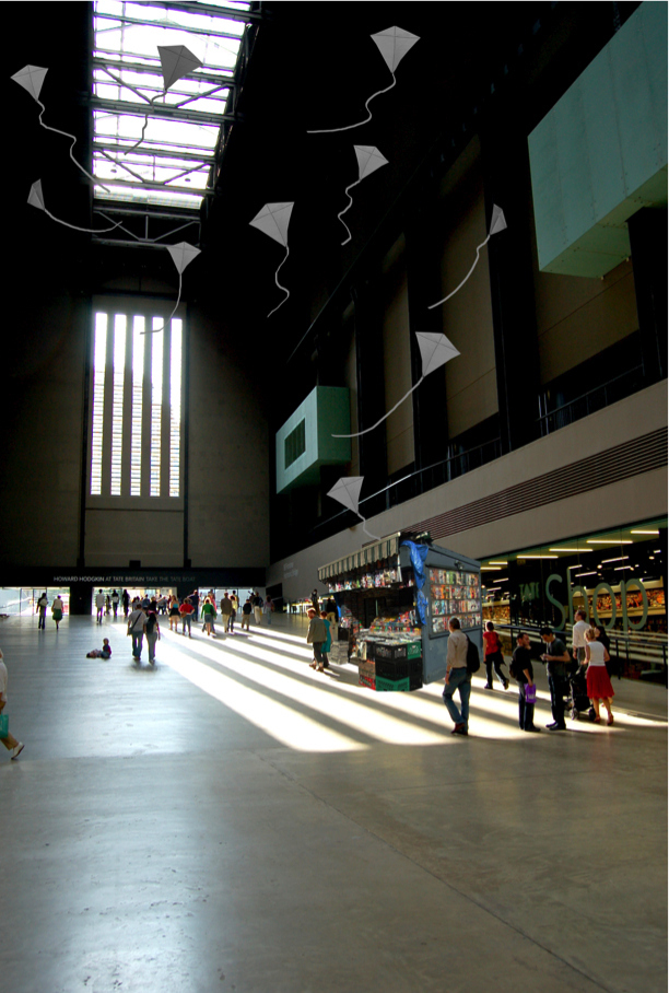 Gape at Tate Modern's Turbine Hall