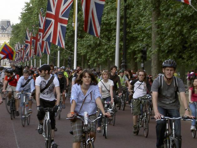 Critical Mass London Cycle Ride