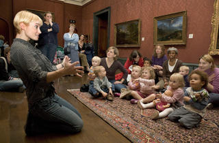 Magic Carpet Storytelling for Under-5s