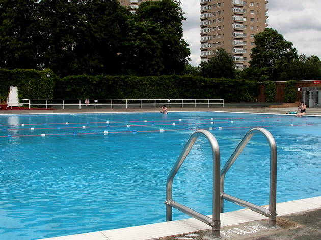 Help the homeless with a midwinter swim at Brockwell Lido
