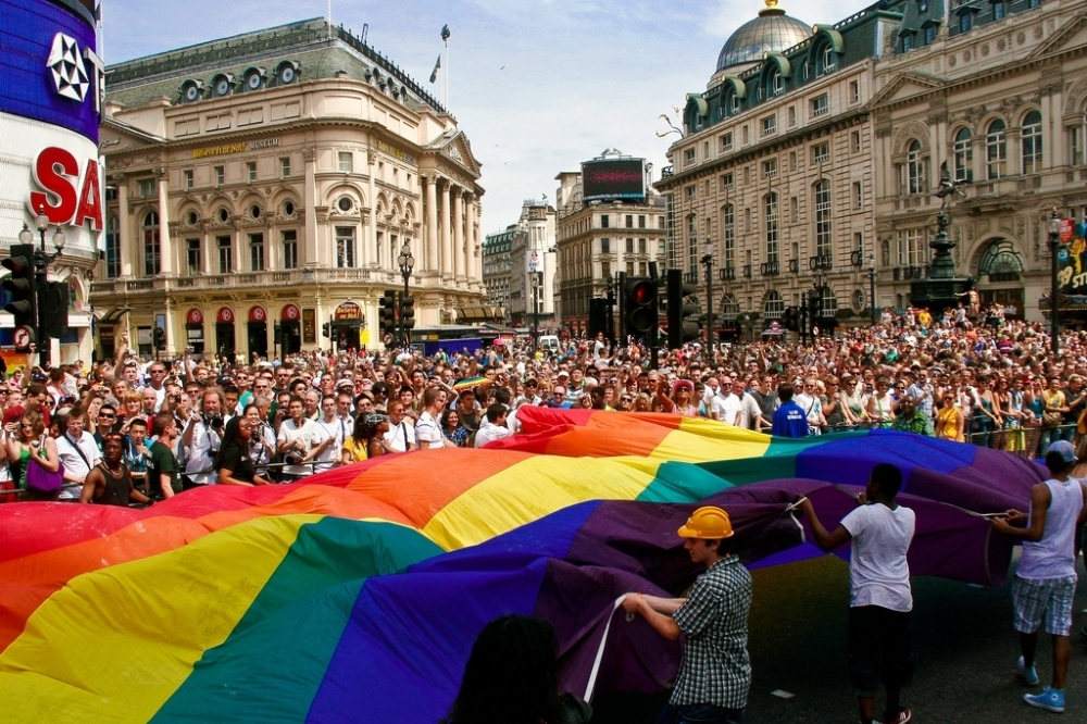 Gay pride london parade