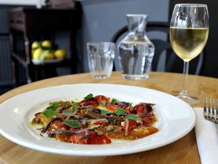 Fill up on fine Italian food at Trullo