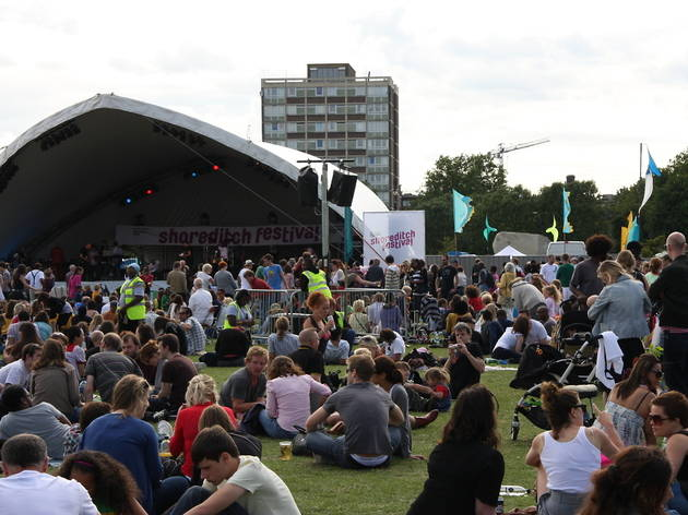 Shoreditch Festival 2012