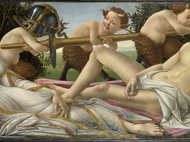 Features_closeexamination_fakesmistakesanddiscoveries_nationalgallery_2010press_CREDIT_Botticelli's (real) 'Venus and Mars' (c1485) hangs alongside fakes_National Gallery, London.jpg