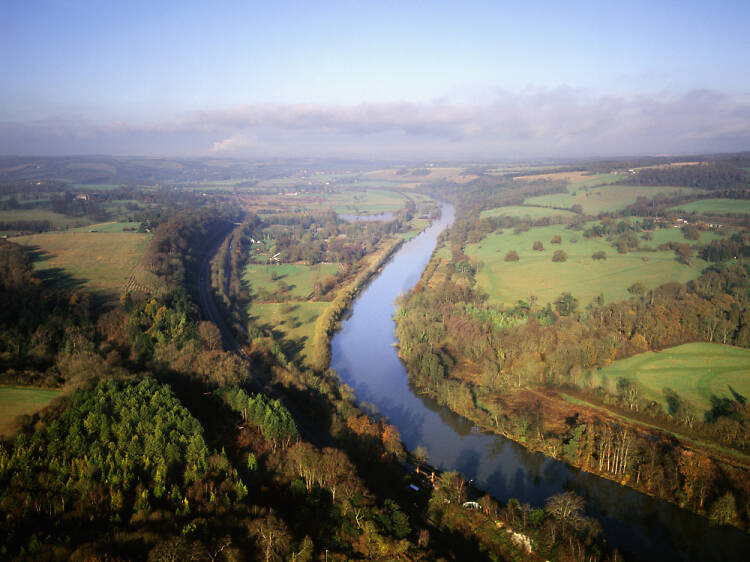 Goring Gap and the Thames Path