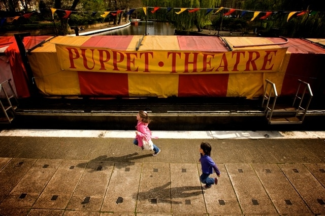 Visit the Puppet Theatre Barge