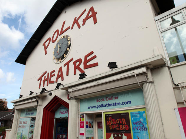 See a show and play in the giant Wendy House at the Polka Theatre
