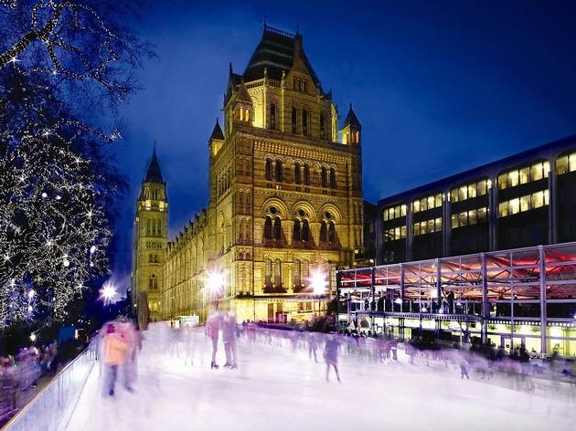 Natural History Museum Ice Rink 2010