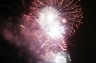 Brockwell Park Fireworks 2012