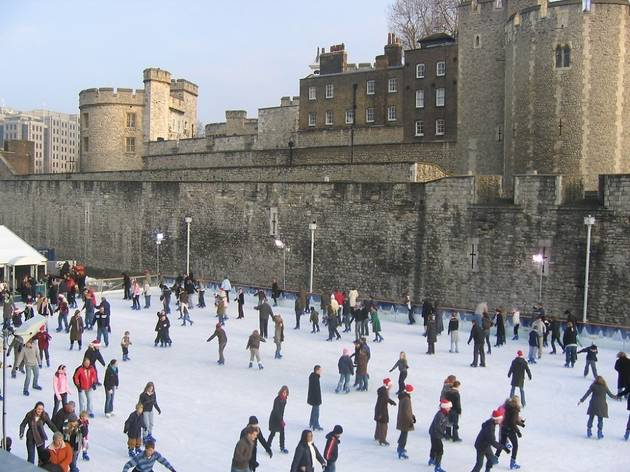 Tower of London Ice Rink 2011