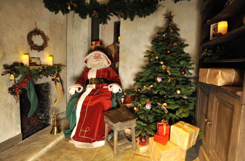 Poplars garden centre father christmas 2019 gift
