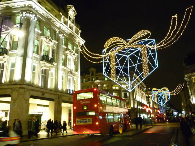 Transport in London over Christmas and New Year