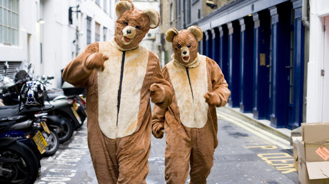 The 2 Bears hit the decks at XOYO