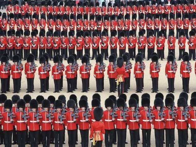 Trooping the Colour 2013: The Colonel's Review