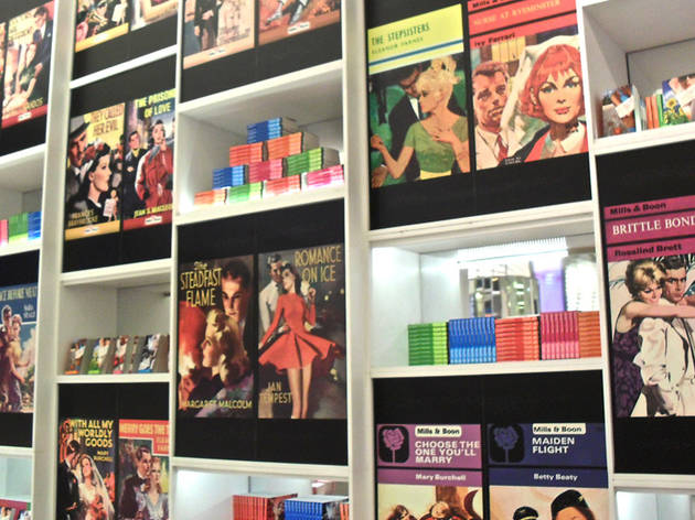Mills and Boon pop up at Selfridges