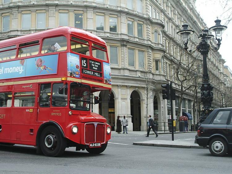 1960s Routemaster bus tour