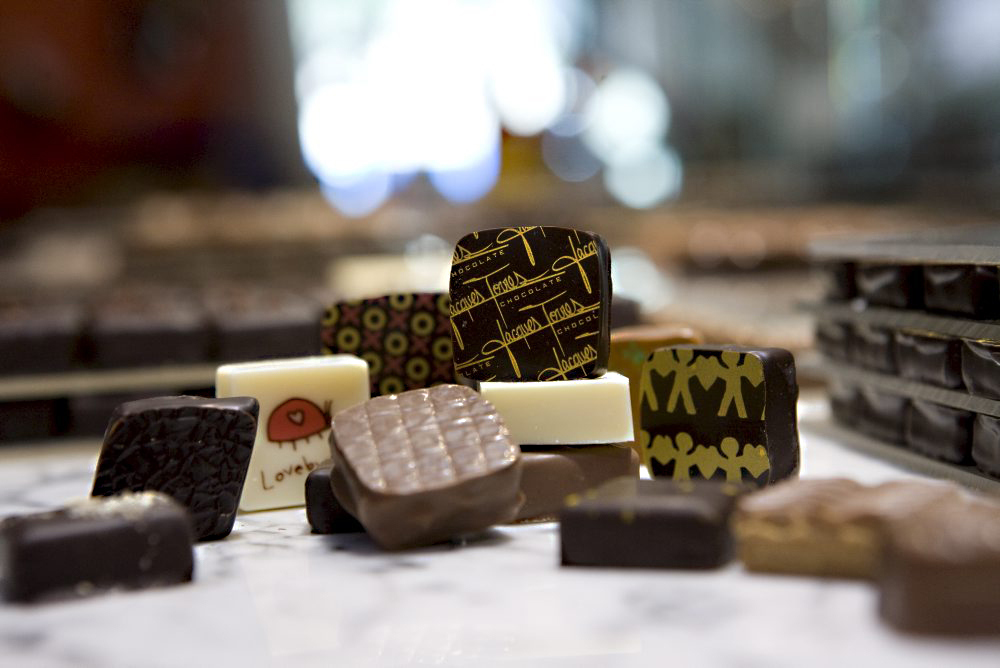 Ace chocolate shops in London