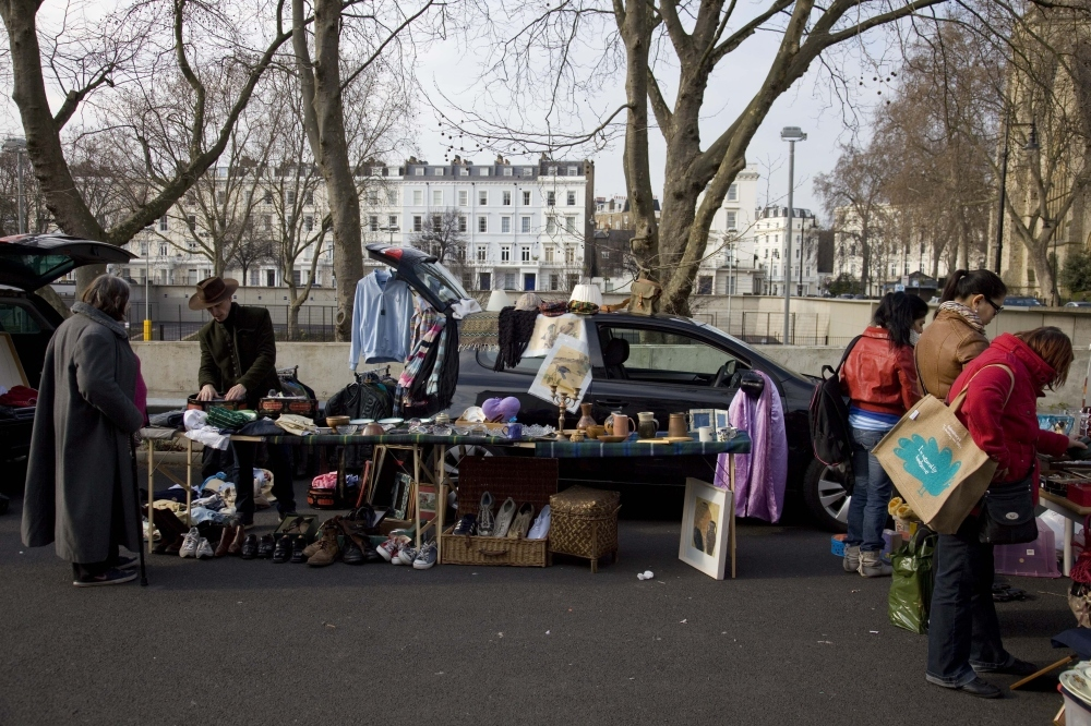 In praise of car boot sales - the fashionable way to shop Life and Car boot sales fashion