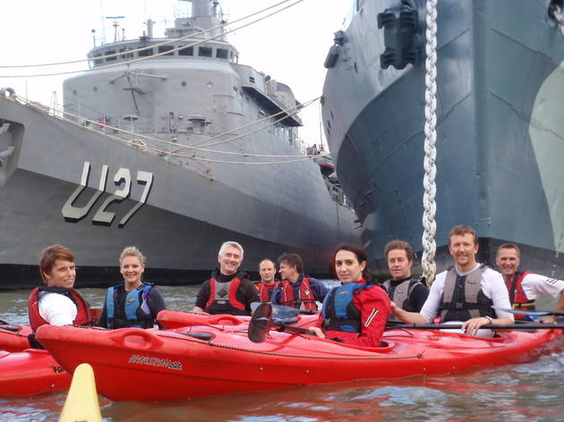 Discover London Kayaking Experience