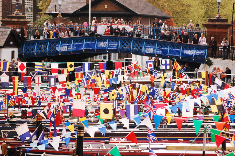 The annual Canalway Cavalcade