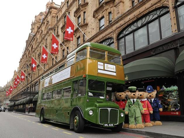 Harrods Vintage Bus Tour
