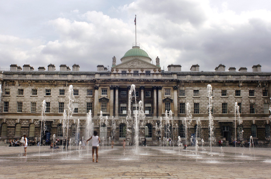 Edmond J Safra Fountain Court at Somerset House