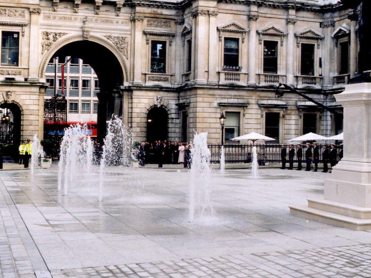 Royal Academy of Arts Fountains