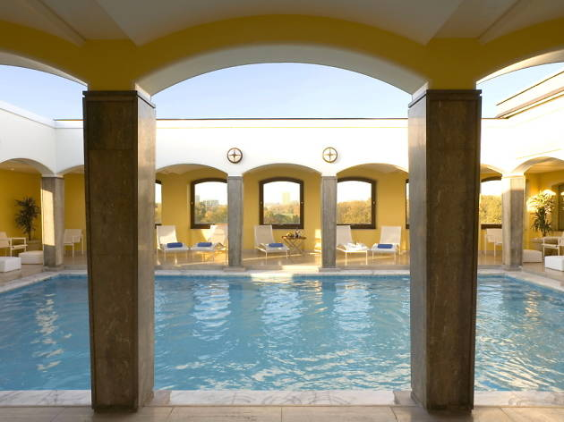 The Berkeley Spa, Swimming pool, shopping, beauty, london's best spas
