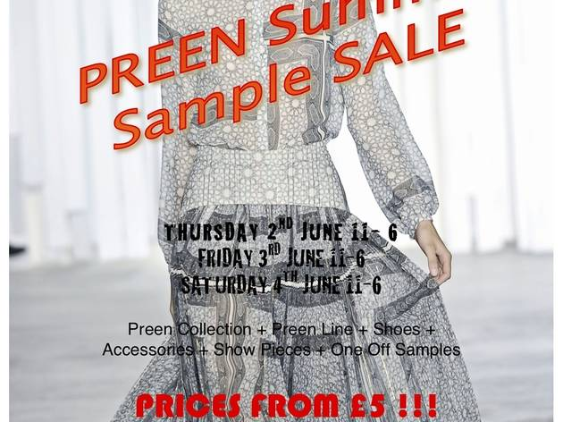 Preen Summer Sample Sale