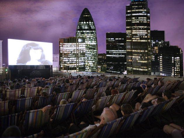 View films alfresco-style