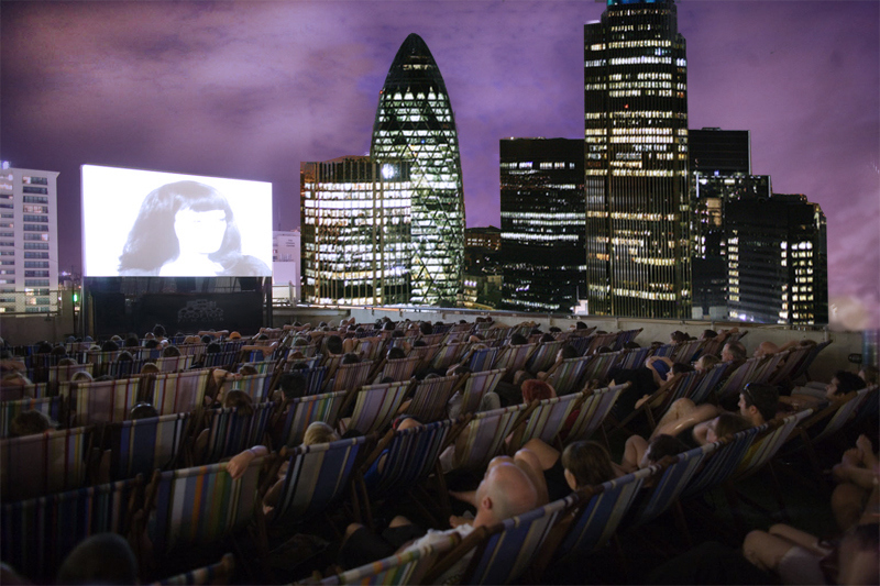 Watch the big screen in big style
