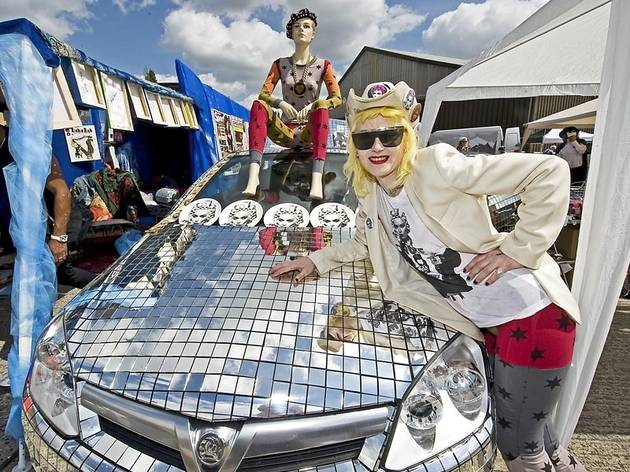 Vauxhall Art Car Boot Fair 2011