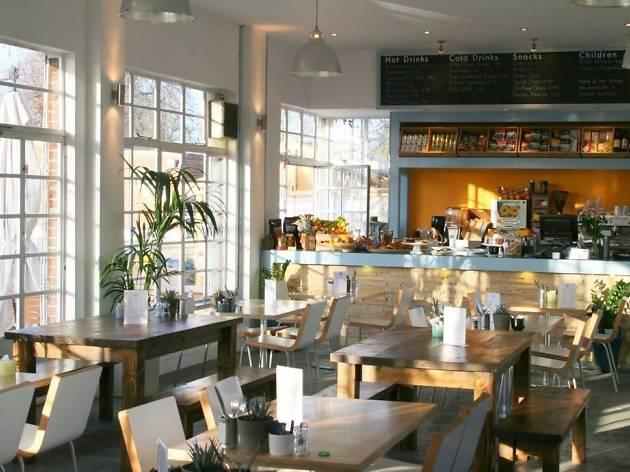 The Lido Caf 233 Restaurants In Herne Hill London