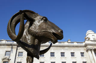 Ai Weiwei l Circle of Animals - Zodiac Heads (Ram) l Somers.jpg
