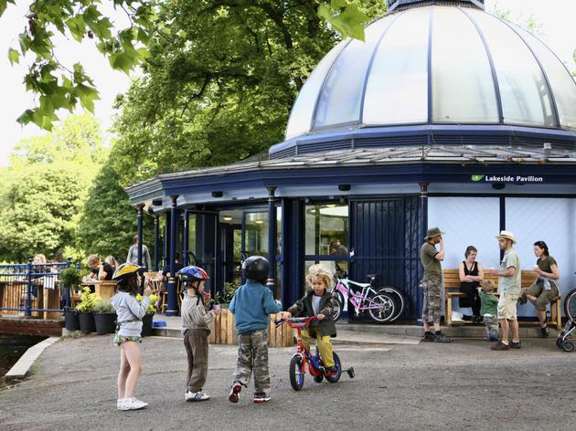 Pavillion Cafe, Victoria Park