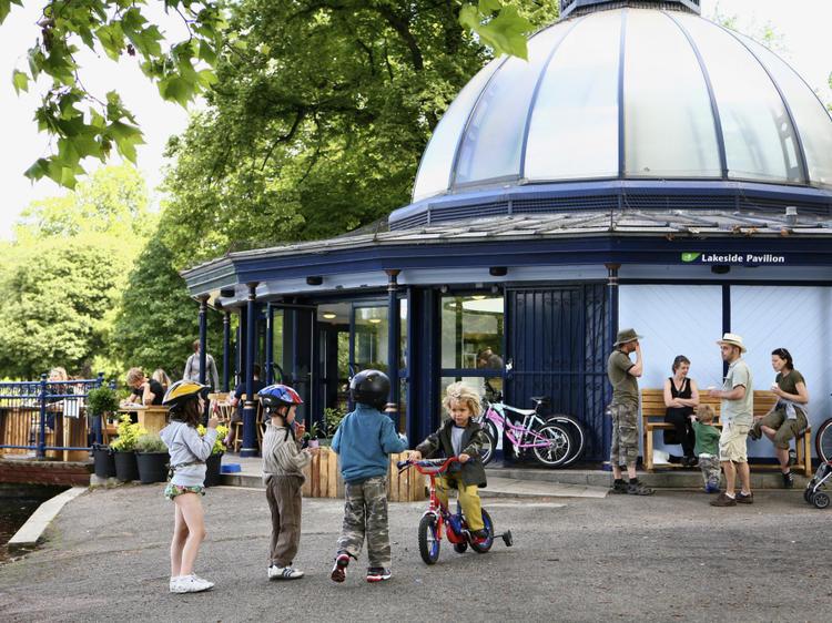 London's best park cafés for kids