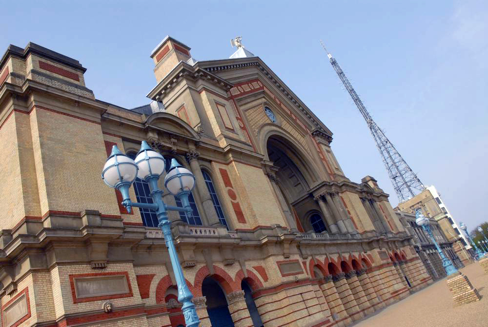So you've never been to… Alexandra Palace?