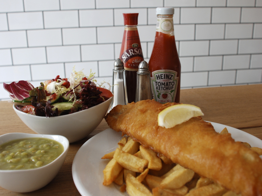 Watch your fish and chips being fried on CCTV at Kerbisher & Malt